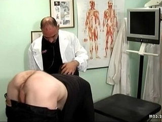 Old gay doctor probes his ass with a big dick | ass collection   clinic tv   dicks   doctors   gays tube   old