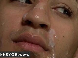 Black gay massive cumshots Versatile Latino Gets her face Covered in Cum | black tv   bukkake   cums   cumshots   gays tube   getting