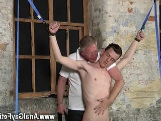 Gay movie of Sean McKenzie is bound up and at the grace of master | fetish  gays tube  master