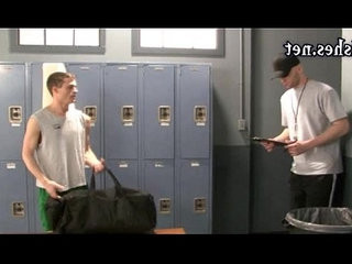 Naughty boys having anal in the locker room | anal top  boys  hardcore  locker  naughty  room