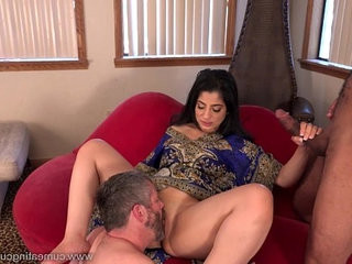 Cum Eating Cuckolds Cuckold watches Nadia Ali go black | black tv  cums  eating  forced
