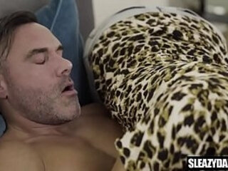 Step-dad blackmails son to get a blowjob | blowjobs  daddy
