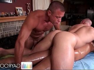 Tag Team Erotic Massage. | erotic  group film  massage