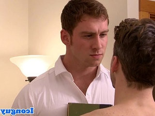 Feuding studs Connor Maguire and Colton Grey   feet top  studs
