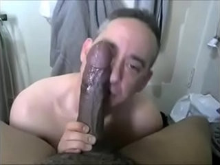 Minutes of Eating Black Cum BBC Worship | black tv  cums  eating  gloryhole  worship