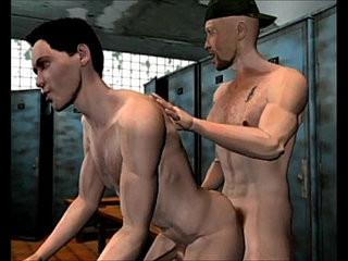 The shower story 3D Gay Cartoon Comics | cartoon  gays tube  hardcore  shower  stories
