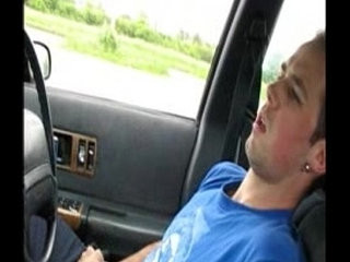 jerking off in my car during lunch time   car xxx  gays tube  jerking