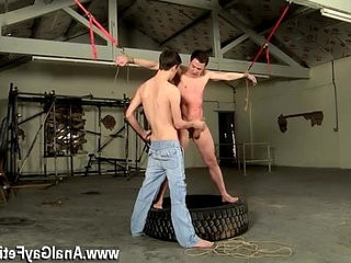 Sexy men The whipping catches the dude off guard, and the ball | dudes   mens   sexy films   trimmed