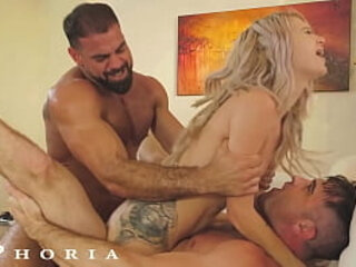 BiPhoria - Married Couple Both Want To Fuck The Pool Boy | both hq   boys   couple   fucking   married