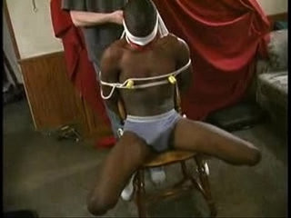 black slave tied to chair and pole | black tv   slave   tight movie